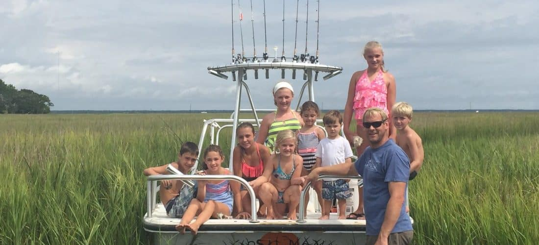 family fun in charleston sc - barrier island eco tours