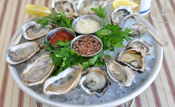 Oysters in Charleston SC