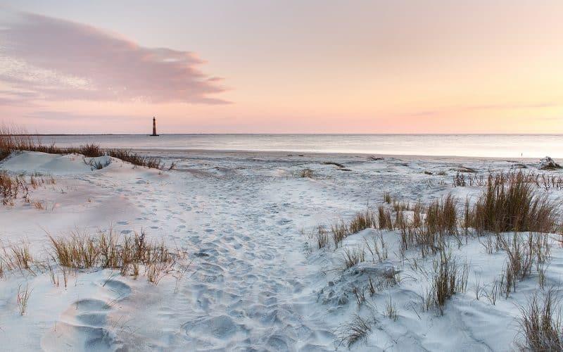 Morris Island at Folly Beach, SC