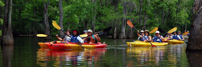 Nature Adventures kayaking
