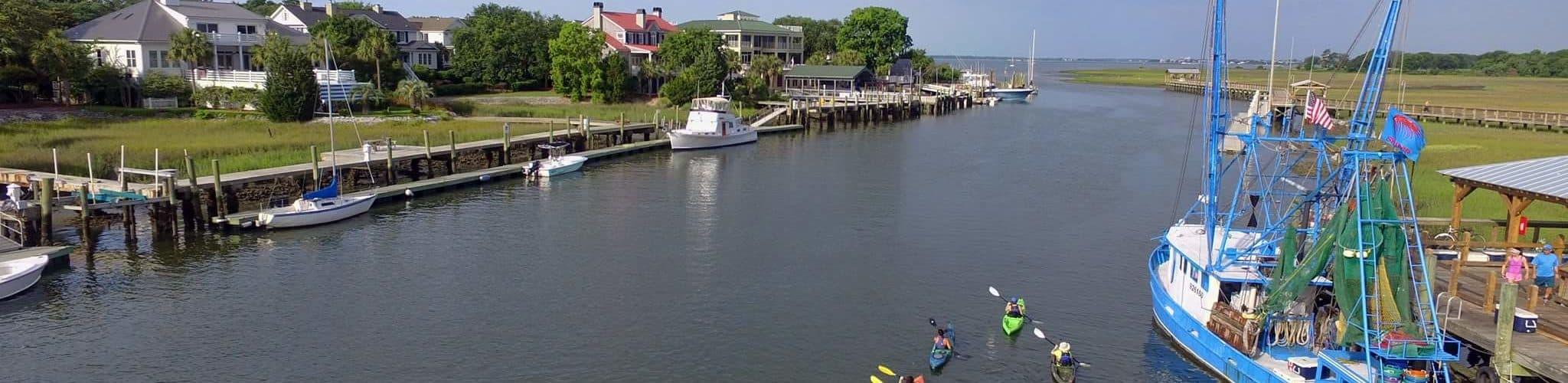 Shem Creek - Charleston, SC